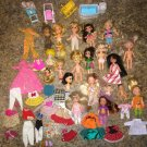 Mixed Lot Vintage MATTELL Dolls Accessories