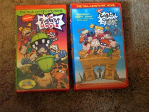 Collection of Rugrats VHS Movies