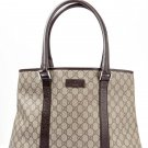 Auth GUCCI GG Canvas Tote Bag Shoulder Bag 114288