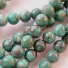~ TURQUOISE 6 mm ROUND  SEMI PRECIOUS STONE BEADS ~ sp324
