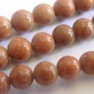 ~ TIGER JASPER 8mm ROUND  SEMI PRECIOUS STONE BEADS ~ sp41b
