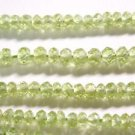 ONE STRAND PERIDOT 3mm FACETED   SEMI PRECIOUS BEADS~ F 265