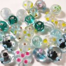 29 LAMPWORK VARIOUS SIZES & COLORS GLASS  BEADS   LOT ~A33