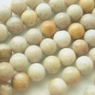 ~  SAND JASPER 8mm ROUND  SEMI PRECIOUS  BEADS ~ sp487