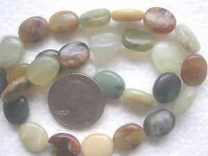 FLOWER JASPER13.5mmX11mm  ONE 15 INCH STRAND SEMI PRECIOUS BEADS ~Z32A