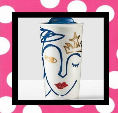 Starbucks Anniversary Traveler adorned with Swarovski® crystals, 10 fl oz