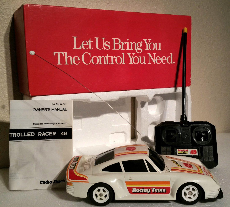Vintage Radio Shack Porsche 959 Cat. No. 60-4033 Near Mint Complete IOB
