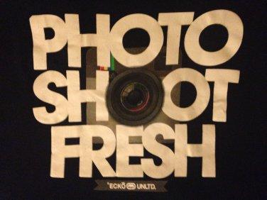 Photo shoot fresh Ecko unltd t shirt Instagram funny punk rock emo tee