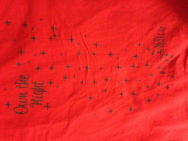 Lady antebellum own the night stars t shirt medium cute punk rock emo tee