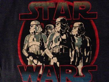 Star Wars storm trooper long sleeve t shirt