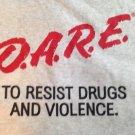 Dare t shirt men's large punk rock retro emo funny tee