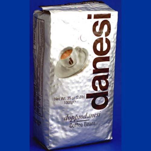 DANESI DOPPIO ESPRESSO COFFEE BEANS 2.2 LB BAG