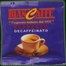 100 BIANCAFFE DECAF ESPRESSO ESE PODS - with Kit