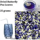 Butterfly Pea Dok Anchan Clitoria ternatea Antioxidant Dry tea Leaves 25 grams