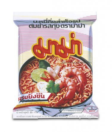 Mama Tom Yum Flavour Instant Noodles 6 pack