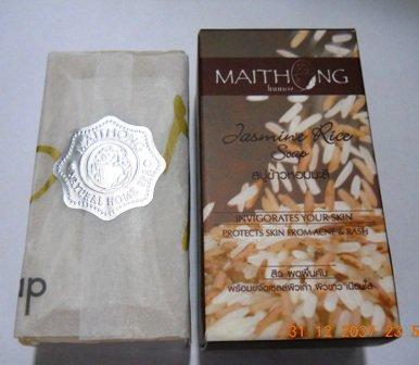 Organic soap.Thai Jasmine Rice