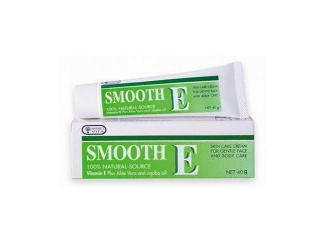 SMOOTH E CREAM VITAMIN E PLUS ALOE VERA REDUCE SCAR 40g