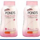 POND'S 2 X 50 G. MAGIC POWDER OIL BLEMISH CONTROL UV PROTECTION PINK