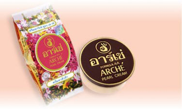 Arche Whitening pure Pearl cream acne dark spots freckles scars wrinkles melasma Thai Best
