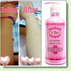 YURI Whitening body lotion Ginseng Cream Lightening Body Face Facial Cream skin