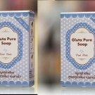 2*picecs GLUTA GLUTATHIONE PURE SOAP WHITENING SKIN BEAUTY BLEACHING ANTI AGING