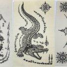 Temporary Thai Tattoos Stickers Waterproof Art Stickers set 1