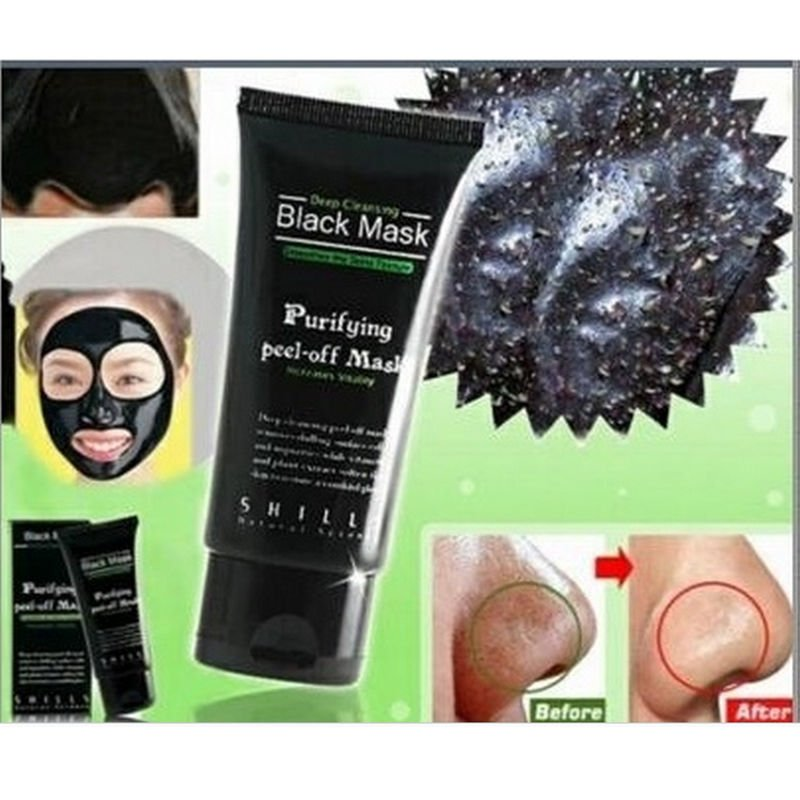 HOT Peel Off Facial Blackhead Remover Acne Cream Bamboo Charcoal Face Mask Lady