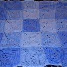 Baby boy block blanket