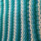 ocean colored soft blanket