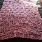 Basket weave blanket homemade