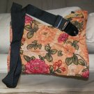 Floral beaded Guitar Strap Purse - Extra Long!