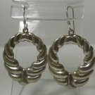 HOOK EARRINGS : MEXICO TAXCO sterling 925 23 EAGLE signed AE