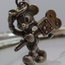 MICKEY & MINNIE Mouse / Large Sterling Disney CHARMs