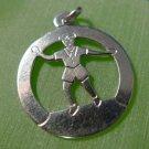 Sterling Silver Boy Dancing Charm