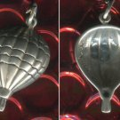 VINTAGE HOT AIR BALLOON CHARM: sterling 925 silver : SIGNED SHUBES
