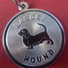 CHARM: sterling 925 silver TC Basset Hound Charm