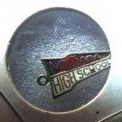 MT DORA HIGH SCHOOL / G  Sterling Silver & Enamel Charm