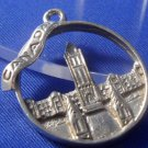 vintage STERLING charm PARLIAMENT BUILDING CANADA