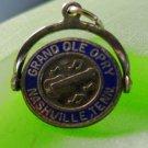 SPINNER CHARM: ENAMEL White Grand Ole Opry House