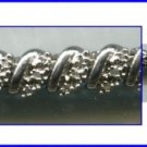 SPARKLING sterling 925 silver 100+ DIAMOND TENNIS BRACELET - 7 WEARABLE INCHES