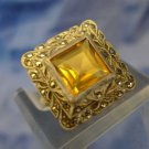 vintage RING sz 3.5 sterling 925 silver and MARCASITE in antique setting