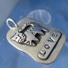 """PENDANT: Retired Sterling STEAMPUNK """" LOVE CAT """"   by Far Fetched of Mexico"""