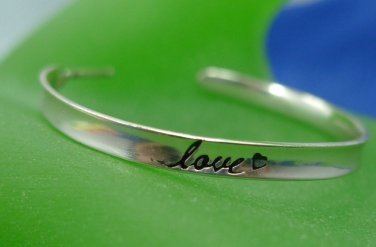 sterling and gold HOOP EARRINGS : LOVE EARTH by ADINA REYTER
