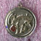 vintage Birthday Charm :  Charming 17 - Sterling 925 Silver