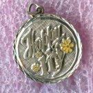 vintage Birthday Charm - Happy 11 - Sterling 925 Silver