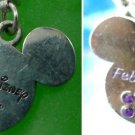 CHARM: DISNEY WORLD MICKEY MOUSE FEBRUARY BIRTH STONE TRAVEL SOUVENIR