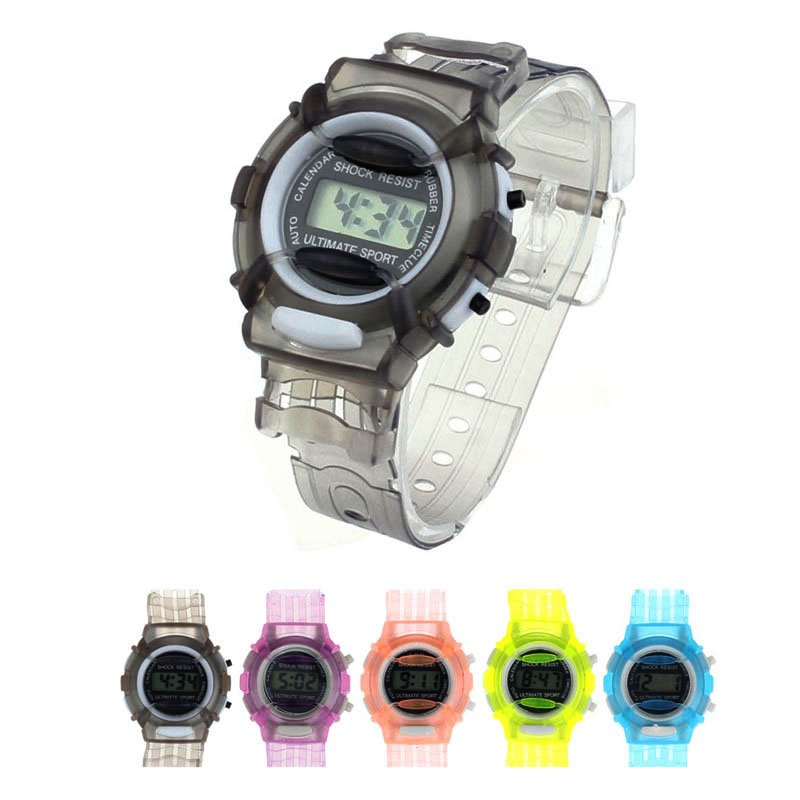 Kids Boys Girls Children Students Digital Wrist Sport Watch