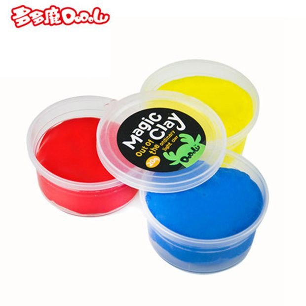 Three colors RYB Playdough Polymer Clay Play Doh Dough Set Modeling Plasticine Play-doh Playdoh
