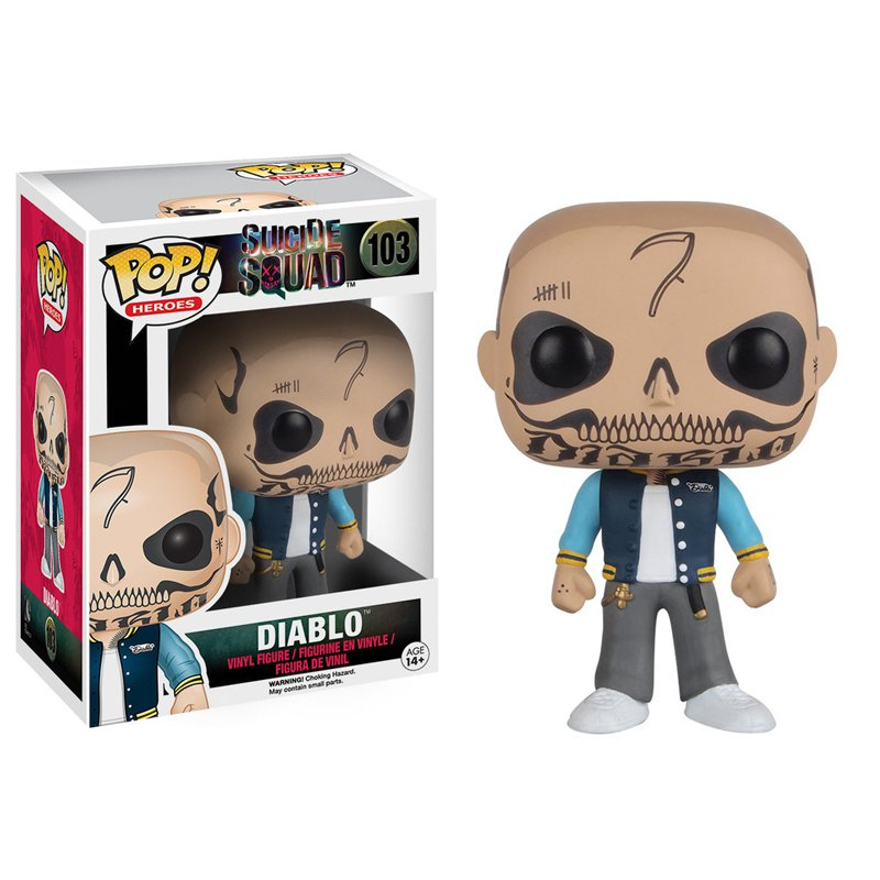 Funko Pop Suicide Squad Diablo Collectible Vinyl Figure Model