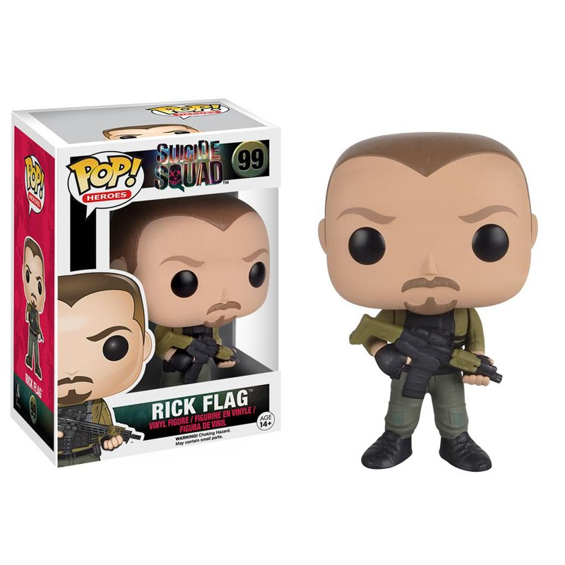 Funko Pop Suicide Squad Rick Flag Collectible Vinyl Figure Model